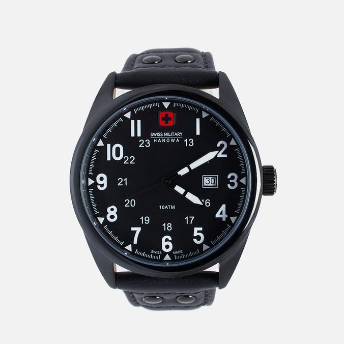 Мужские наручные часы Swiss Military Hanowa Sergeant Black