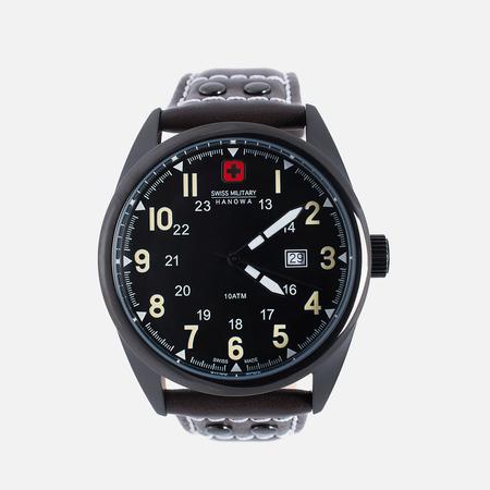 Swiss Military Hanowa Мужские наручные часы Sergeant Black/Brown