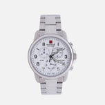 Мужские наручные часы Swiss Military Hanowa Swiss Soldier Chrono Silver/White фото- 0
