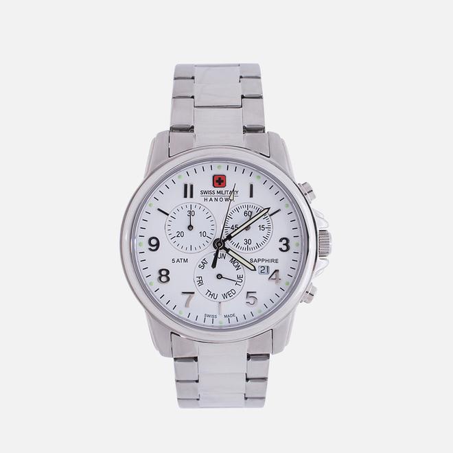 Наручные часы Swiss Military Hanowa Swiss Soldier Chrono Silver/White