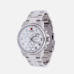 Мужские наручные часы Swiss Military Hanowa Swiss Soldier Chrono Silver/White фото- 1