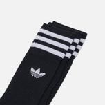 Мужские носки adidas Originals Crew 3 Pairs Black/White фото- 1