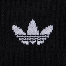 Комплект носков adidas Originals Crew 3 Pairs Black/White фото- 2