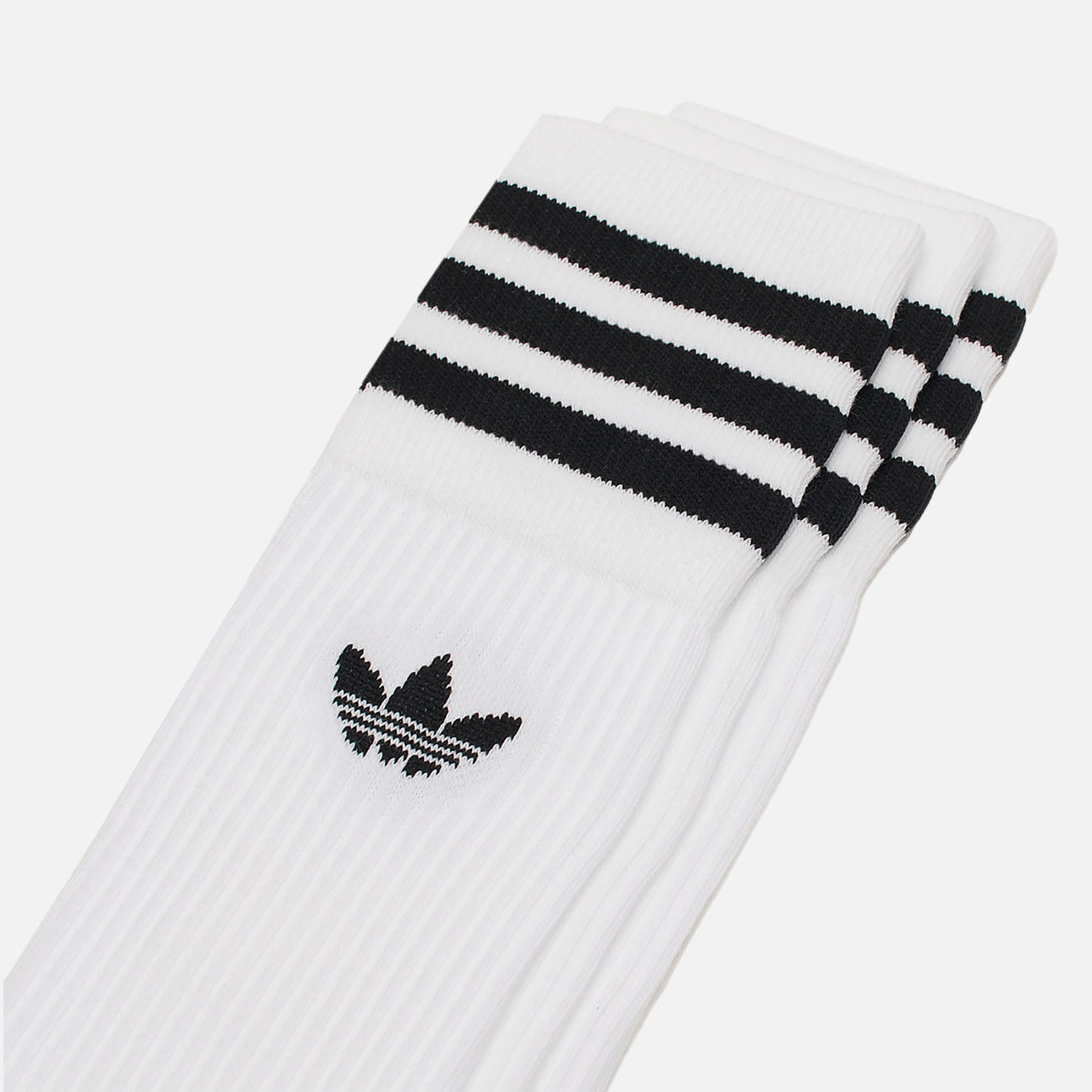 Комплект носков adidas Originals Crew 3 Pairs White/Black