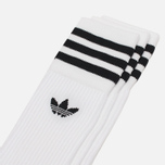Комплект носков adidas Originals Crew 3 Pairs White/Black фото- 0