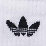 Мужские носки adidas Originals Crew 3 Pairs White/Black фото- 2