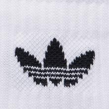 Комплект носков adidas Originals Crew 3 Pairs White/Black фото- 2