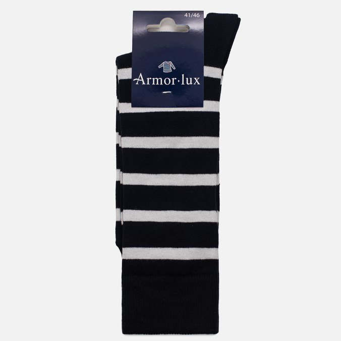 Мужские носки Armor-Lux Striped Rich Navy/White
