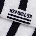 Мужские носки Armor-Lux Striped White/Dark Navy фото- 2
