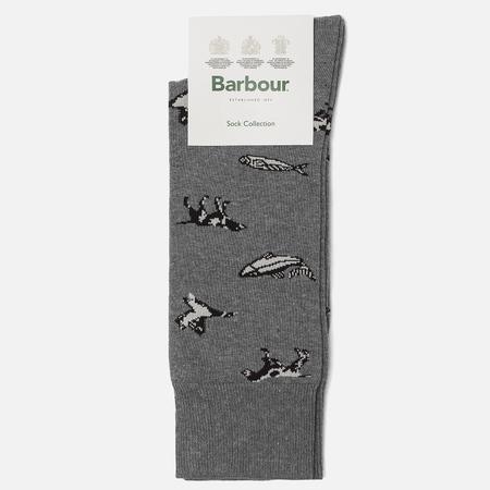 Мужские носки Barbour Animal Mix Blue