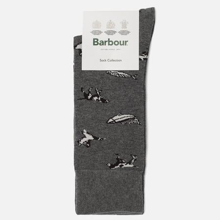 Мужские носки Barbour Animal Mix Charcoal
