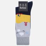Мужские носки Barbour Beach Navy фото- 0
