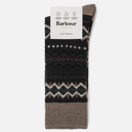 Мужские носки Barbour Caistown Fairisle Navy