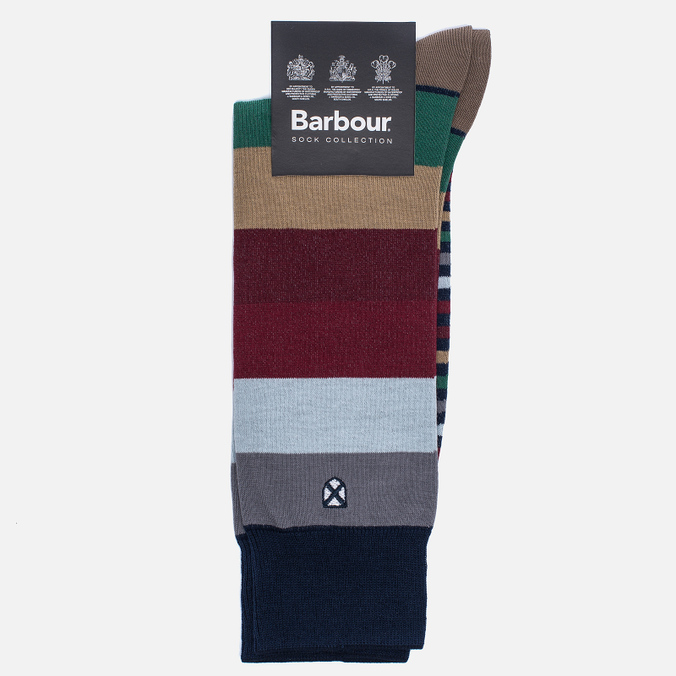 Мужские носки Barbour Heywood Navy Multi