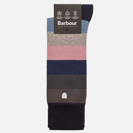 Мужские носки Barbour Heywood Navy/Pink