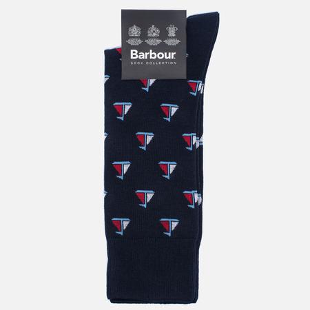 Мужские носки Barbour Sailboat Navy