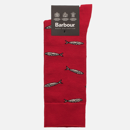 Мужские носки Barbour Sardine Red