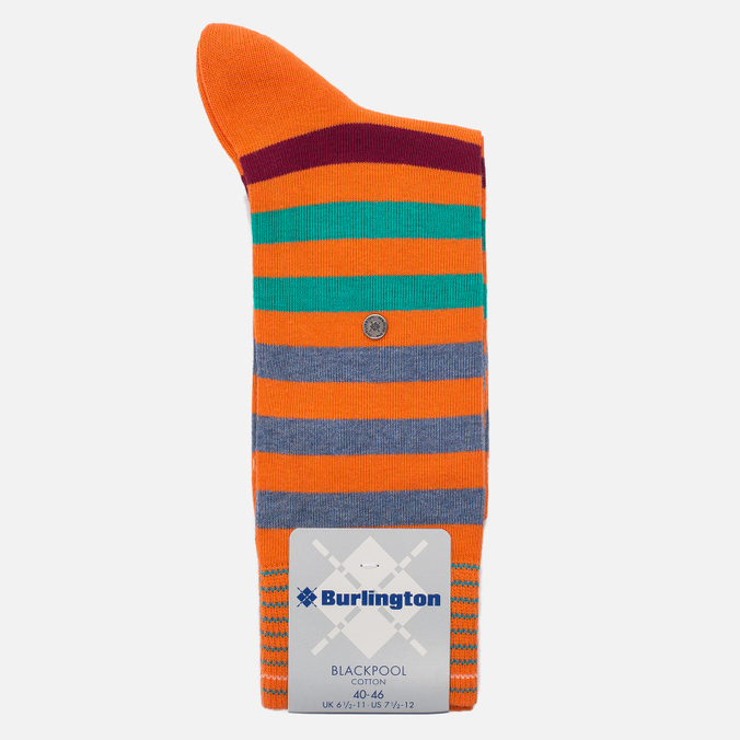 Мужские носки Burlington Blackpool Flash Orange