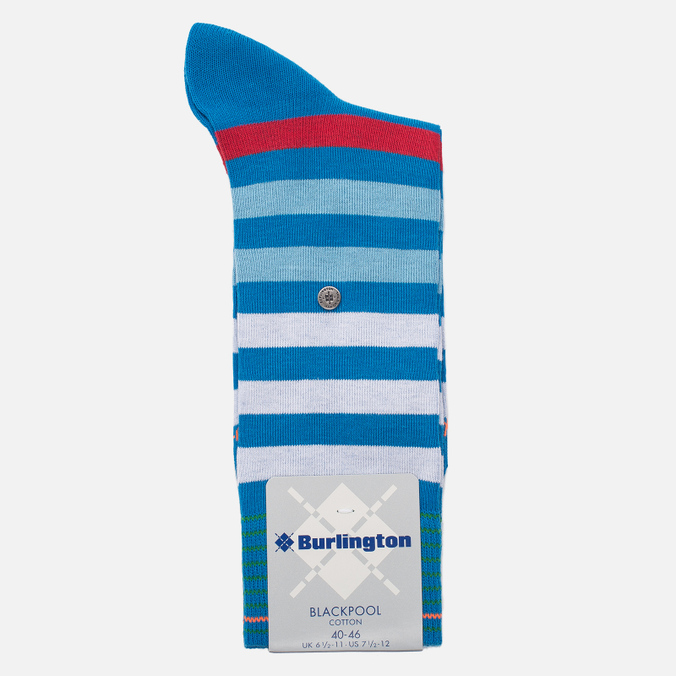 Мужские носки Burlington Blackpool Manganese Blue