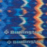 Мужские носки Burlington Blurred Stripe Dark Blue Melange фото- 2
