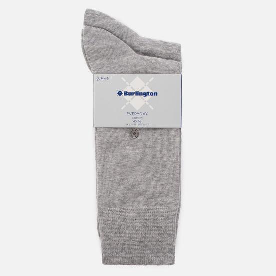 Комплект носков Burlington Classic Everyday 2-Pack Light Grey