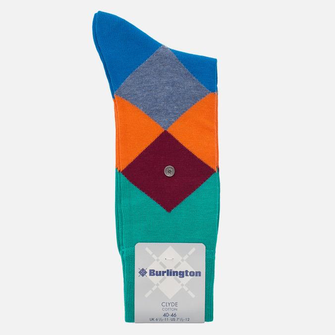 Мужские носки Burlington Clyde Emerald