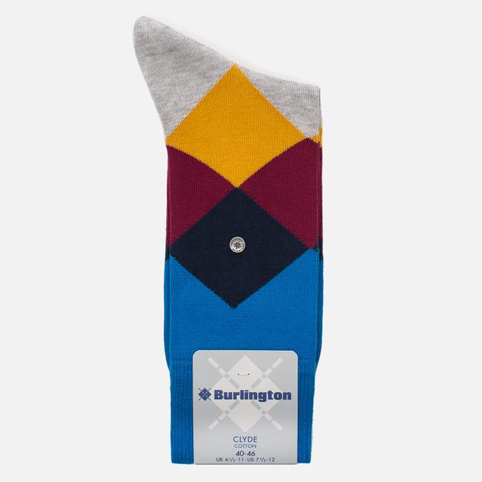 Мужские носки Burlington Clyde Manganese Blue