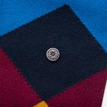 Мужские носки Burlington Clyde Manganese Blue фото- 2