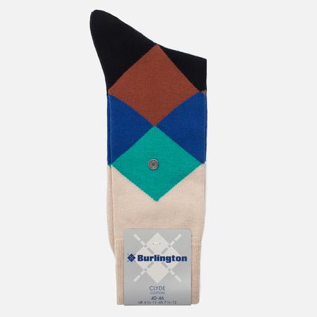 Мужские носки Burlington Clyde Sandstone