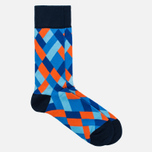 Falke Geometric Men's socks Marine photo- 1