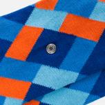 Falke Geometric Men's socks Marine photo- 2