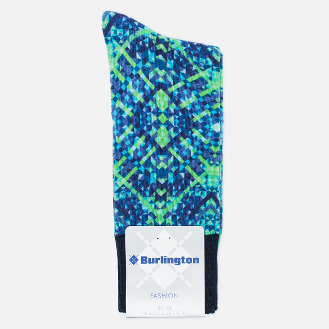 Burlington Graphic Men's socks Print Navy