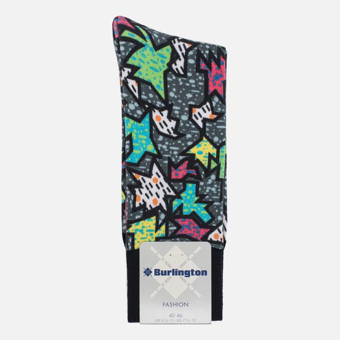 Мужские носки Burlington Jigsaw Black