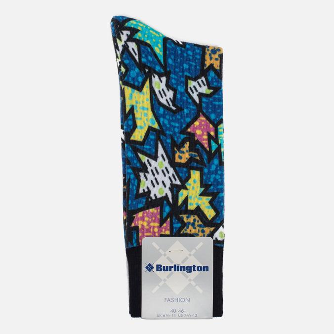 Мужские носки Burlington Jigsaw Marine