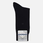 Мужские носки Burlington Leeds Black фото- 0