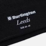 Мужские носки Burlington Leeds Black фото- 2