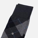 Мужские носки Burlington Manchester Anthracite Melange фото- 1