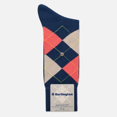 Мужские носки Burlington Manchester Royal Blue