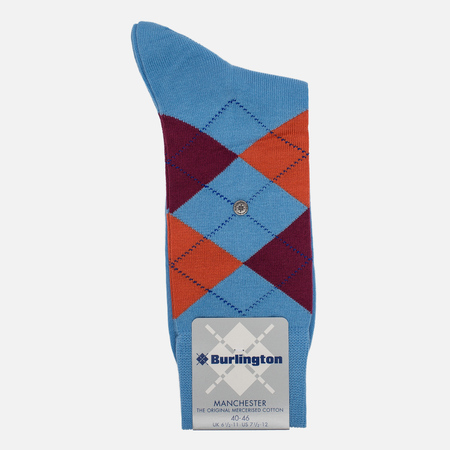 Мужские носки Burlington Manchester Tinte