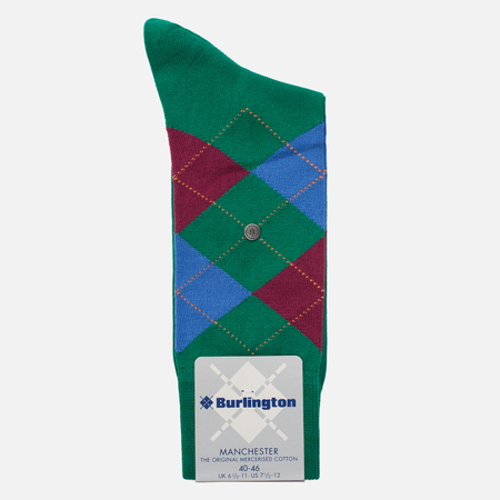 Мужские носки Burlington Manchester Vivid Green