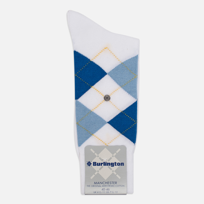 Мужские носки Burlington Manchester White