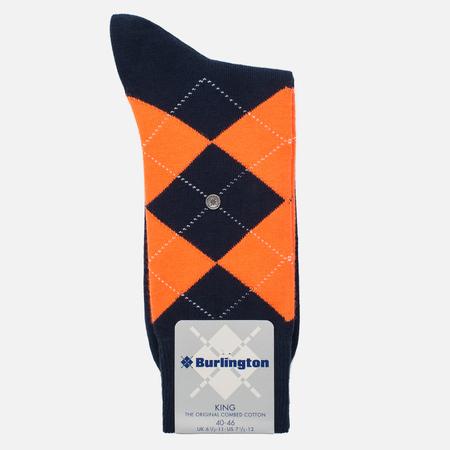 Мужские носки Burlington Neon King Marine
