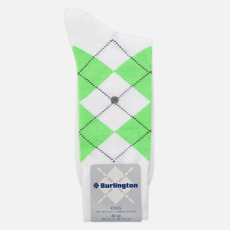 Мужские носки Burlington Neon King White