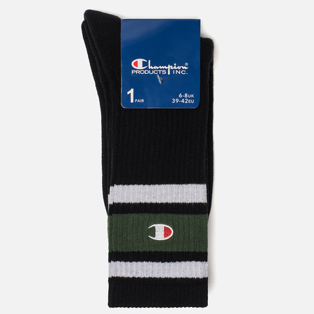 Носки Champion Reverse Weave Colour Block Black