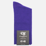 Мужские носки Democratique Socks Socks Originals Solid Deep Purple фото- 0
