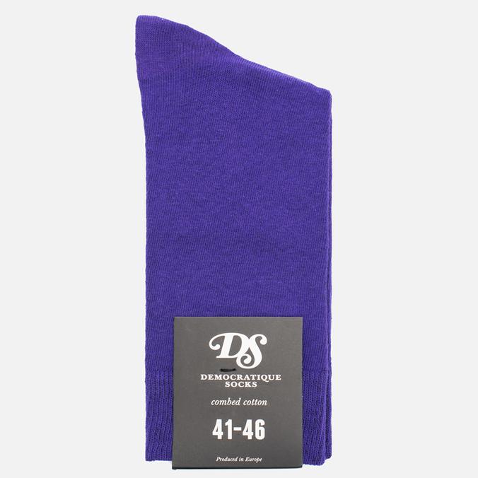 Мужские носки Democratique Socks Socks Originals Solid Deep Purple
