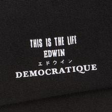 Носки Edwin x Democratique Socks Tube Black фото- 2