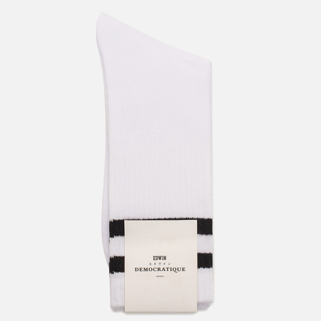 Носки Edwin x Democratique Socks Tube White