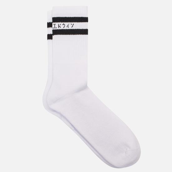 Носки Edwin x Democratique Socks Tube White