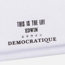 Носки Edwin x Democratique Socks Tube White фото- 2